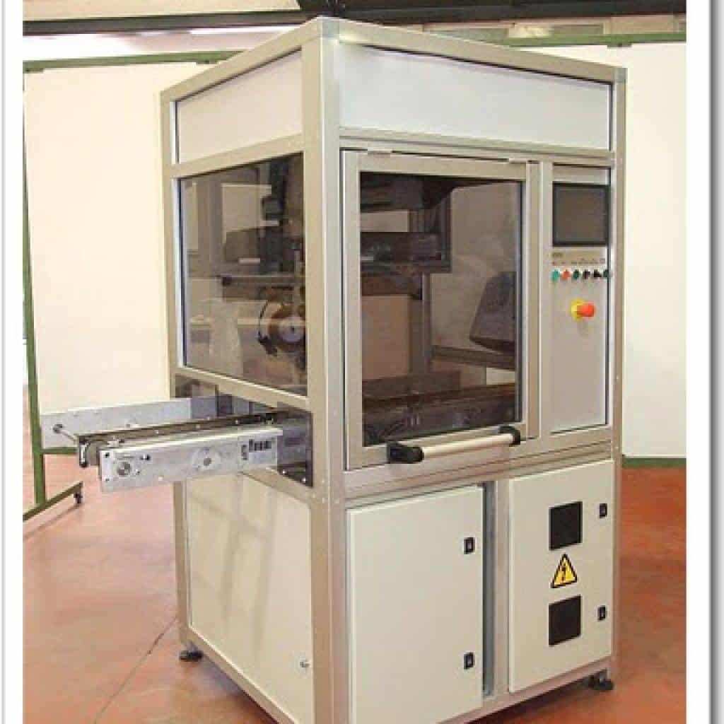Máquina automática para el despegado de etiquetas circuitos impresos Sony