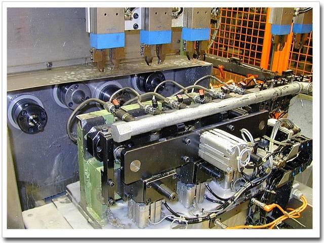 Máquinas de mecanizado y rectificado de precisión