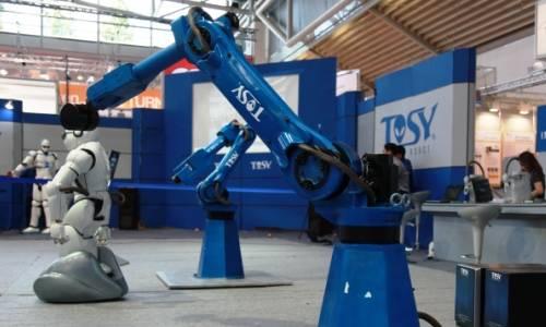 Los robots en las industrias