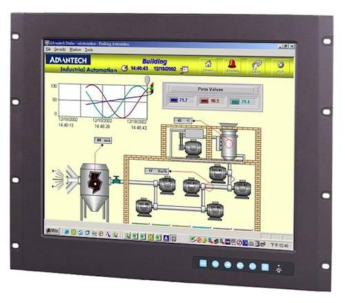 Flat Panel Industrial Monitor