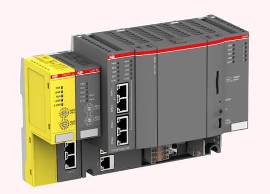 102808 g plataforma plc ac500 cpu pm595 abb