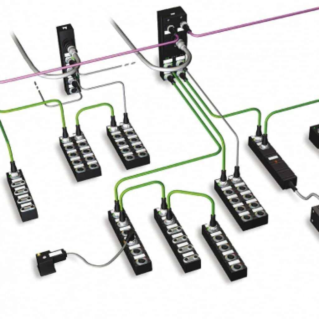 automatizacion descentralizada modulos remotos io link boox