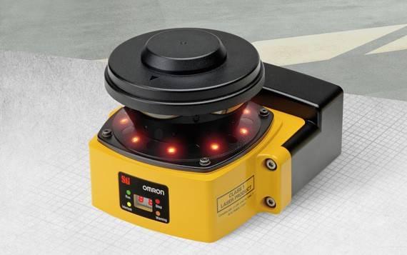 escaneres laser de seguridad omron