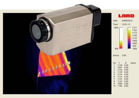 la nueva camara de termografia fija nir de land instrumentes int