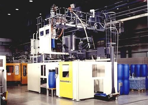 maquinaria de extrusion y soplado de plastico