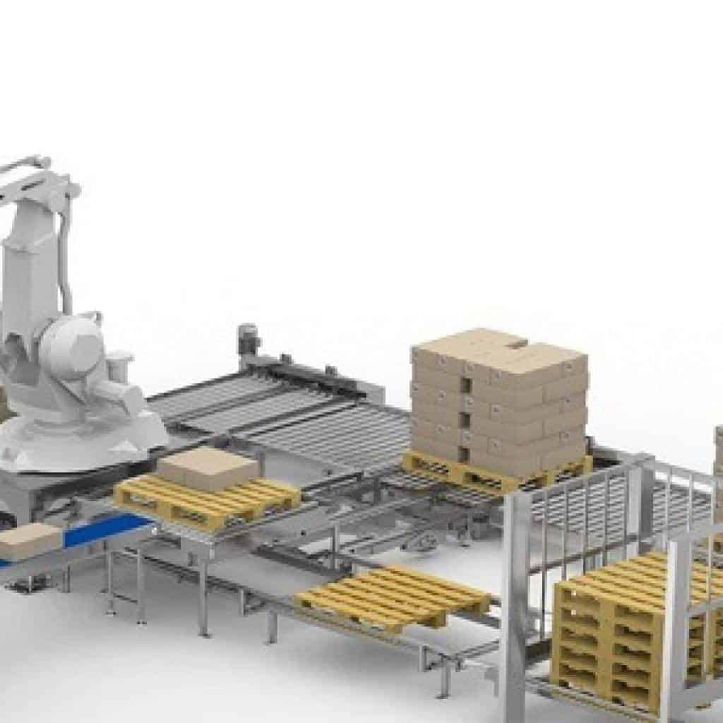 los sistemas automaticos de paletizado