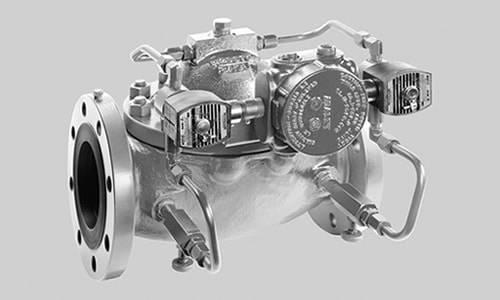 control de presion mediante valvulas