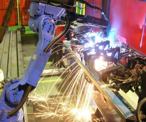 Robotización de procesos industriales
