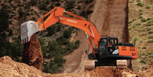 excavadora zx350lc 6 sorprende a la industria de la construccion