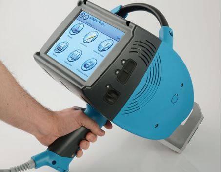 maquina de marcaje industrial portatil