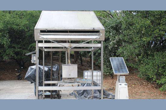 Máquinas para la industria de la alimentación. Fabrican hielo con el sol.