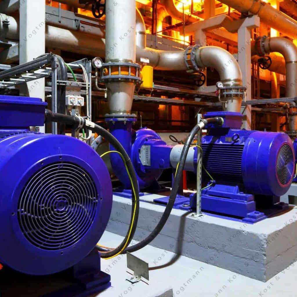 control de procesos en maquinaria industrial