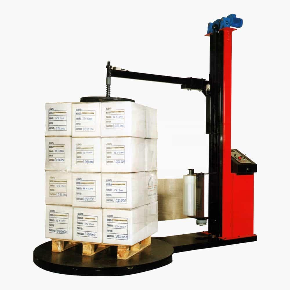 Maquinaria de embalaje