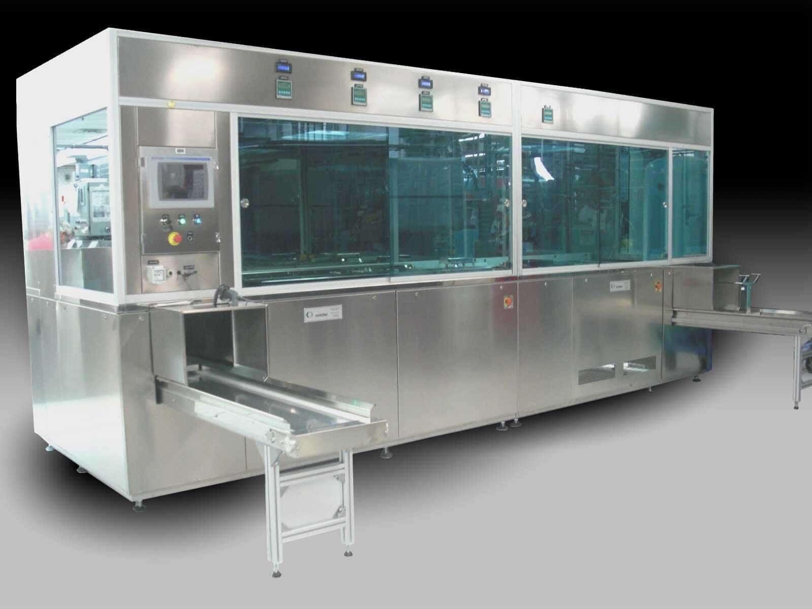máquinas de limpieza por ultrasonido