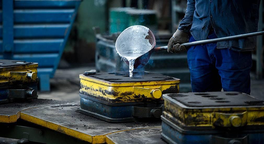 fundición de metales no ferrosos