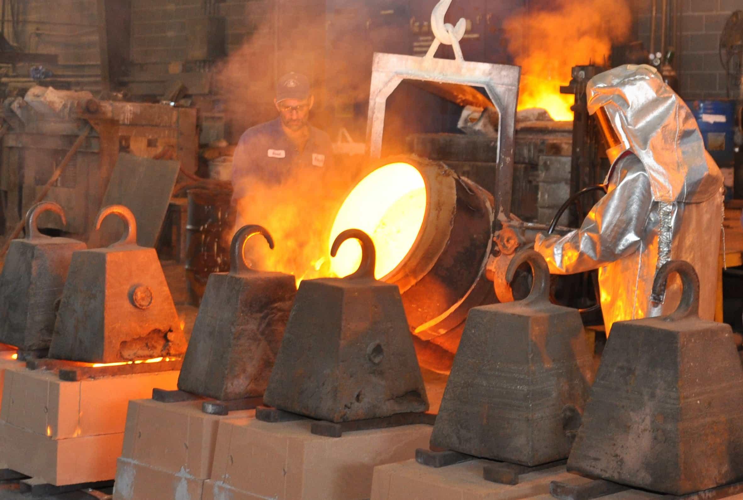 fundición de metales ferrosos