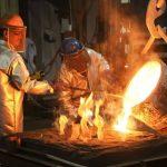 Fundición del acero