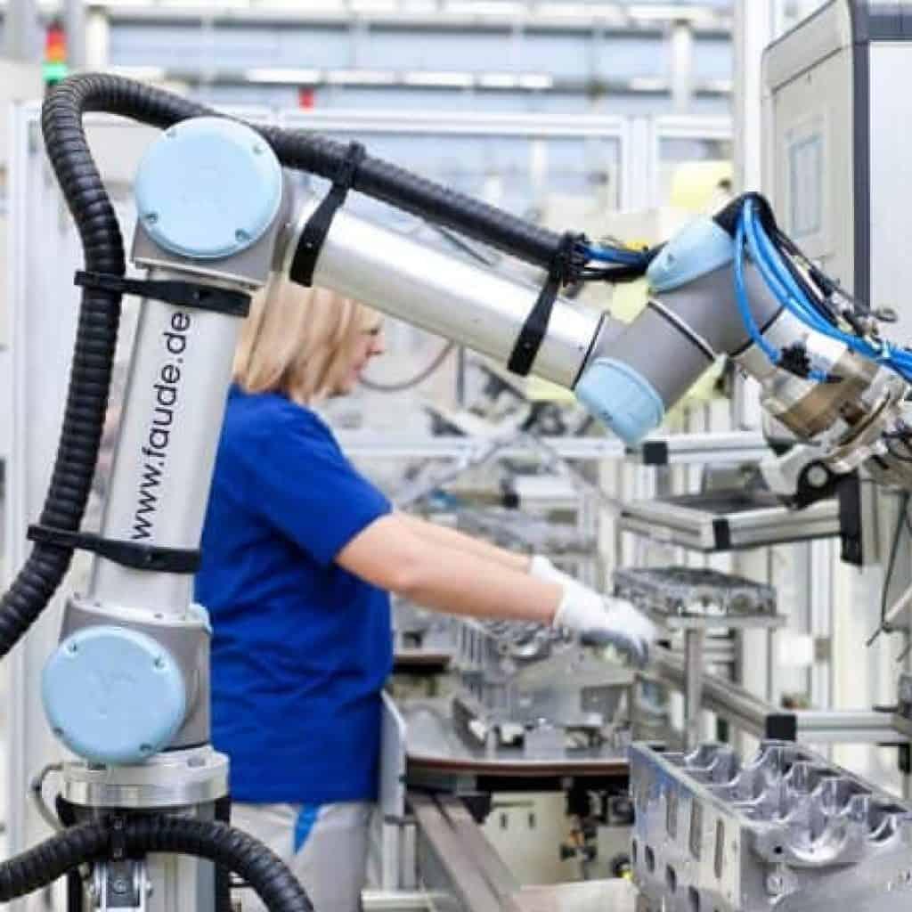 fabricación de robots