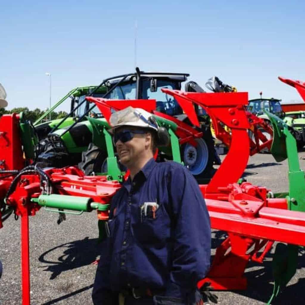 maquinas del sector agricola