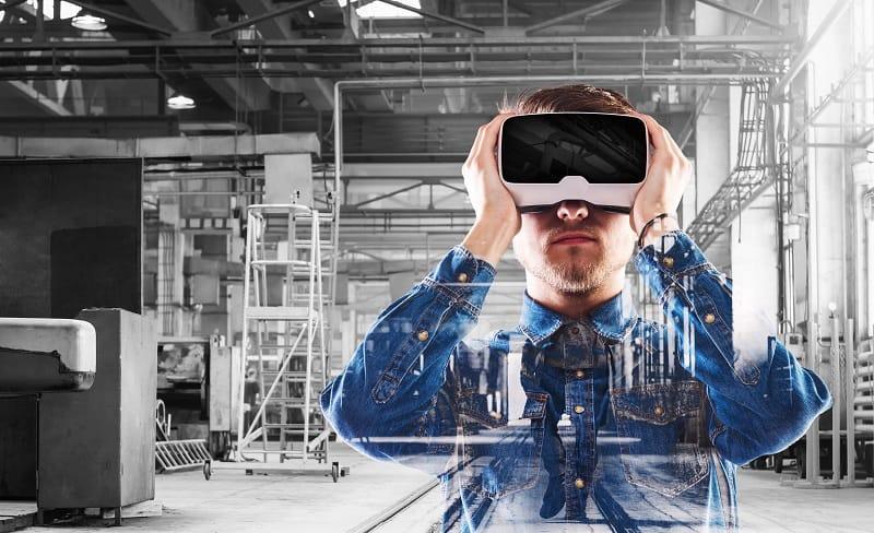 la realidad aumentada y la maquinaria industrial