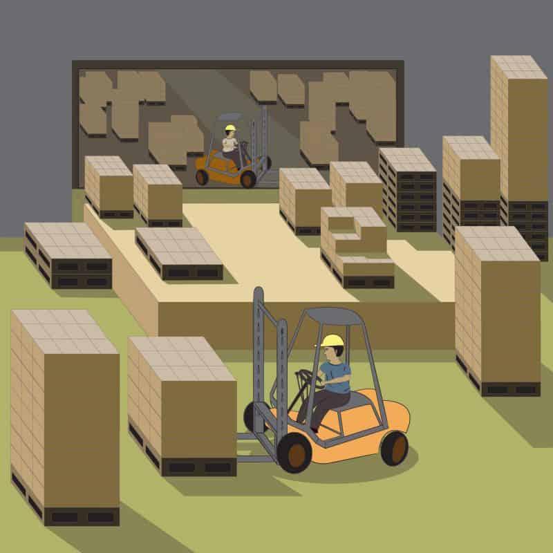 seguridad industrial proteccion en trabajos con maquinaria movil
