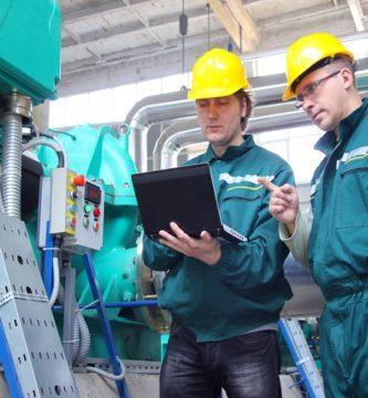 servicio de mantenimiento de la maquinaria